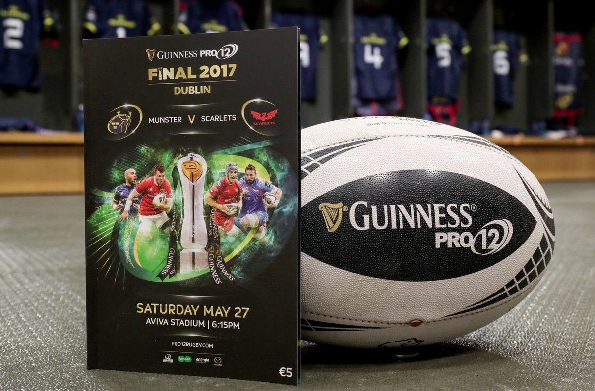 It's almost that time of the day🙌#MunsterRising #MUNVSCA https://t.co/owaLIEm054