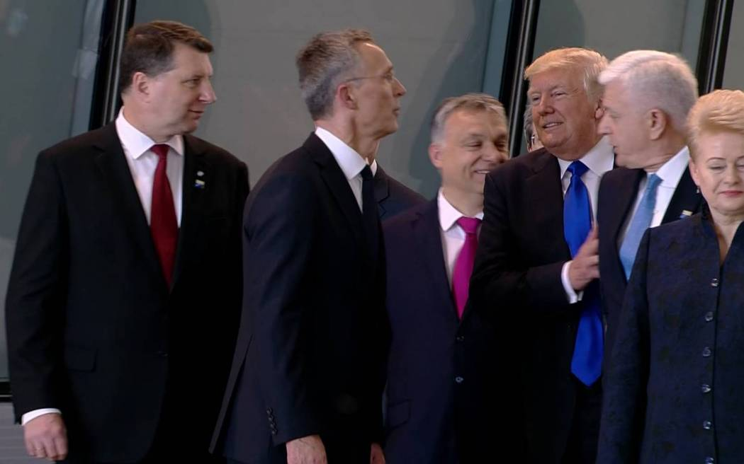 America First? Trump pushes aside Montenegro leader
