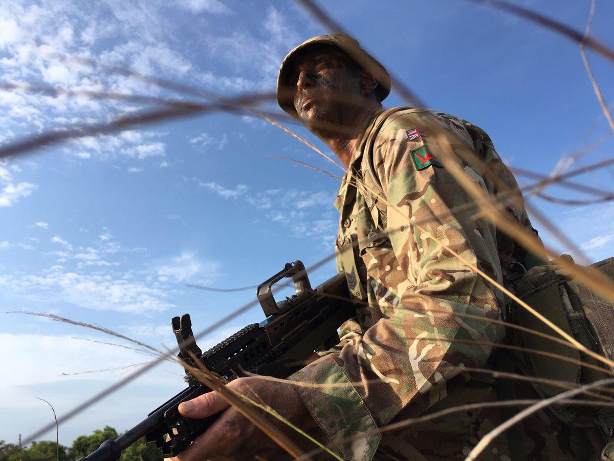 test Twitter Media - RT @1_Rifles: #POTD - B Coy Rifleman training in #Belize https://t.co/Pmq0Ljl1q7