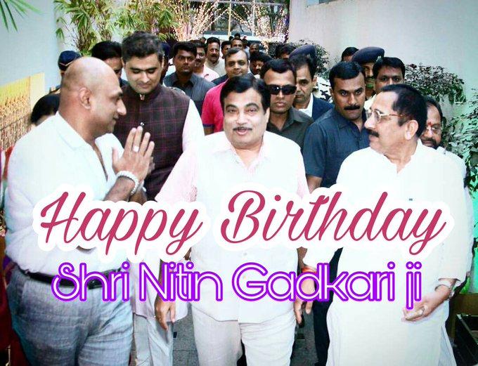 Happy Birthday to shri Ji best wishes from