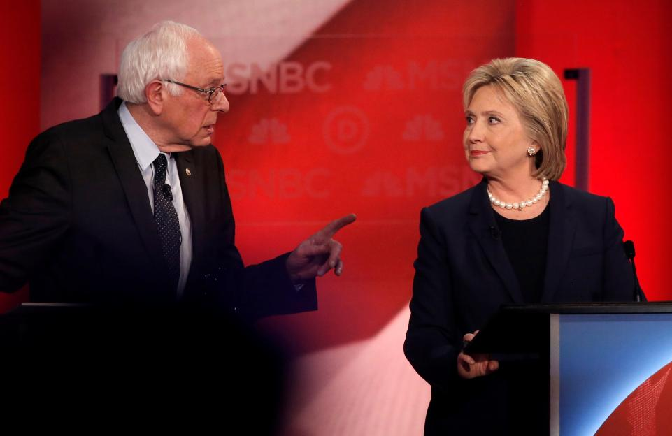 Hillary Clinton's supporters filed a complaint against Bernie Sanders—and lost