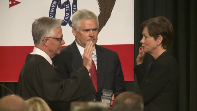 Governor Kim Reynolds Delivers Her Swearing inAddress