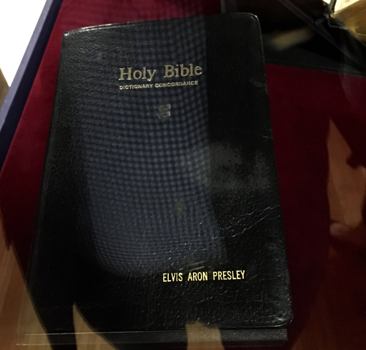 "test Twitter Media - So I'm in Wittenberg Germany doing some LUTHER promotion & the @MuseumofBible has an exhibit here! ""Is that Elvis's Bible?"" you ask. YES!!! https://t.co/gJWNlvcb4F"