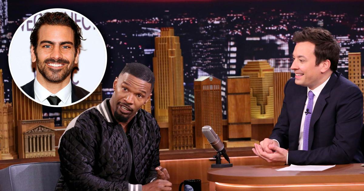 Nyle DiMarco calls out Jamie Foxx for making up sign language on FallonTonight: