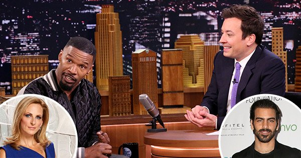 Jamie Foxx is receiving some criticism for mocking sign language on late-night television: