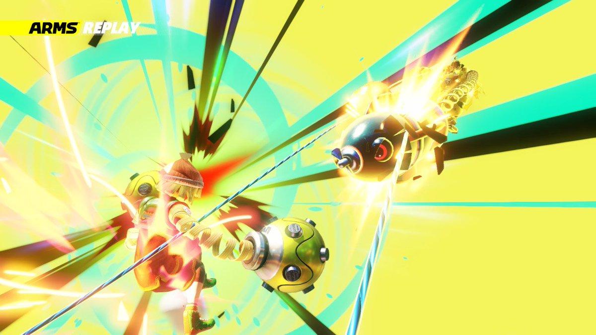 なんとなくペルソナ4を思い出す・・・ #ARMS #NintendoSwitch