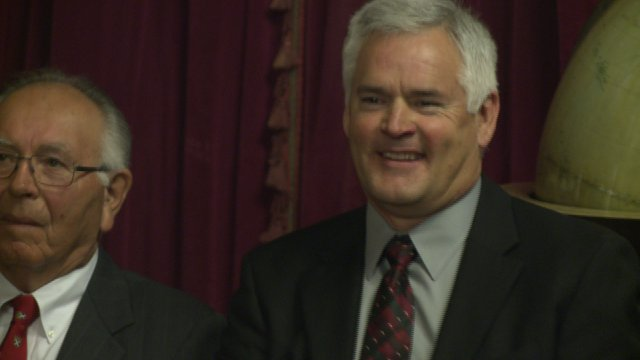 No 'First Dude' Title for New Governor's Husband