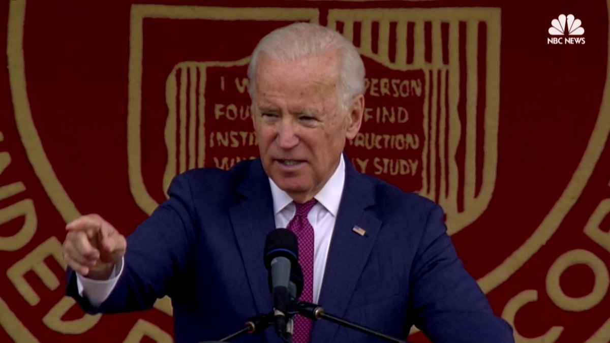 WATCH: Joe Biden speaks to graduates about how to understand each other