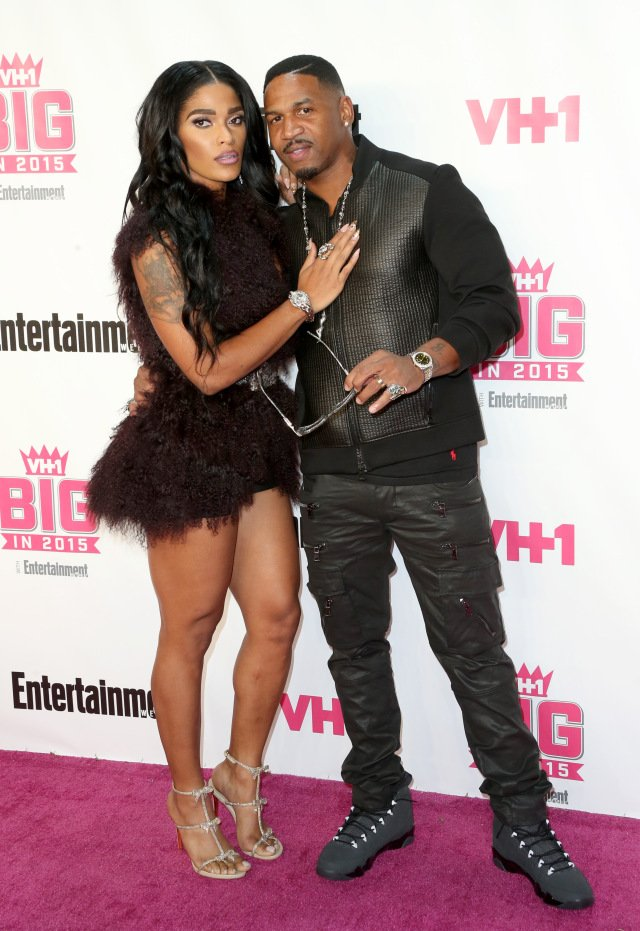 Here we go again: TMZ says Joseline assaults Stevie J at restaurant with hot mushrooms