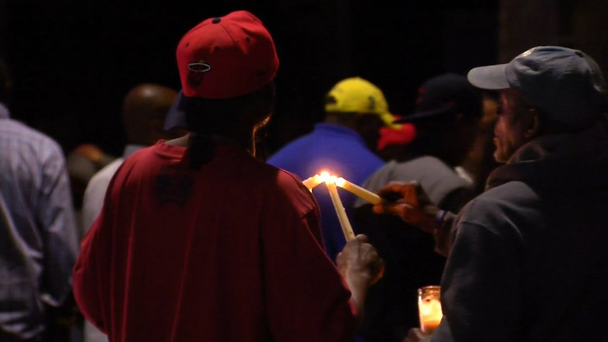Dozens gather to mourn the loss of man killed in New Haven