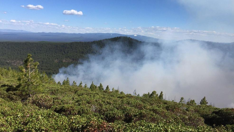 Cougar Butte fire near Bend grows to 140 acres