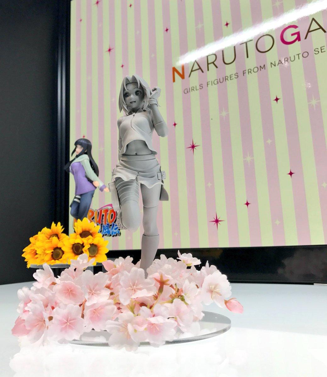 【#ナルト】NARUTOギャルズも、お陰様で第3弾「春野サクラ」商品化決定&原型初展示に!そこにサクラちゃんが居