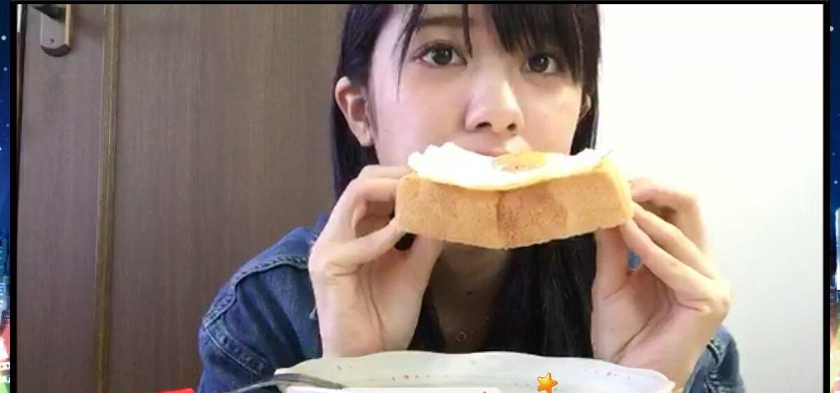 昼西配信終了ラピュタに出てくるパンを再現ジブリに出てくる食べ物は美味しそうというのはほんとわかるわ〜大西さん次枠は16時