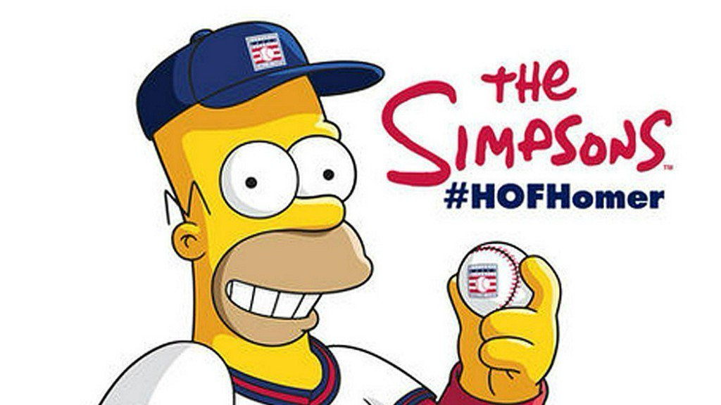 Homer Simpson spills all about the Baseball Hall of Fame in exclusive interview