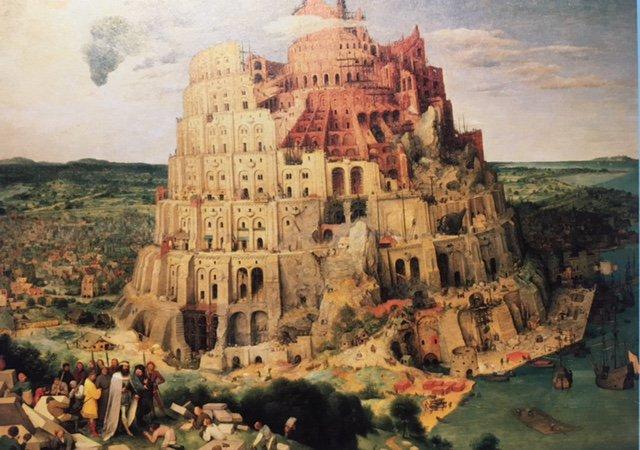 メイン展示『#バベルの塔』は1568年頃の作ですが、こちらはその5年前にブリューゲルによって描かれたもう一つの『バベルの