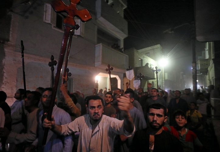 Grief, rage in Egyptian church after Copts attacked by gunmen | New Hampshire