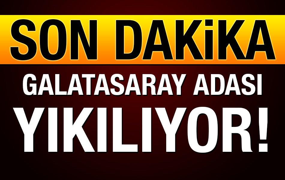 RT @ulusalkanal: Son dakika: Galatasaray Adası yıkılıyor! https://t.co/oPpFHWc4OS https://t.co/T37fHfDgmM