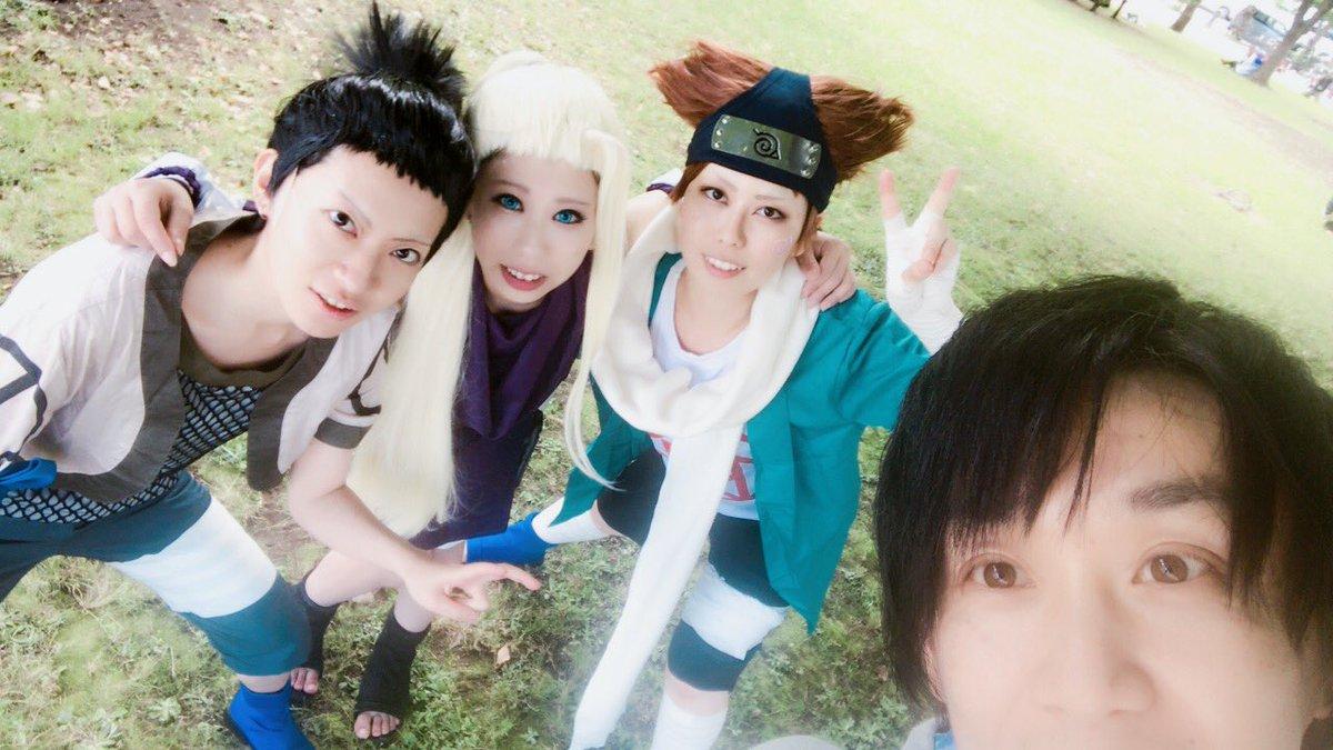 TFTでNARUTOのシカマル班と悟空夫婦! 東京のイベントに戸惑いつつ野良カメコ頑張ってる。