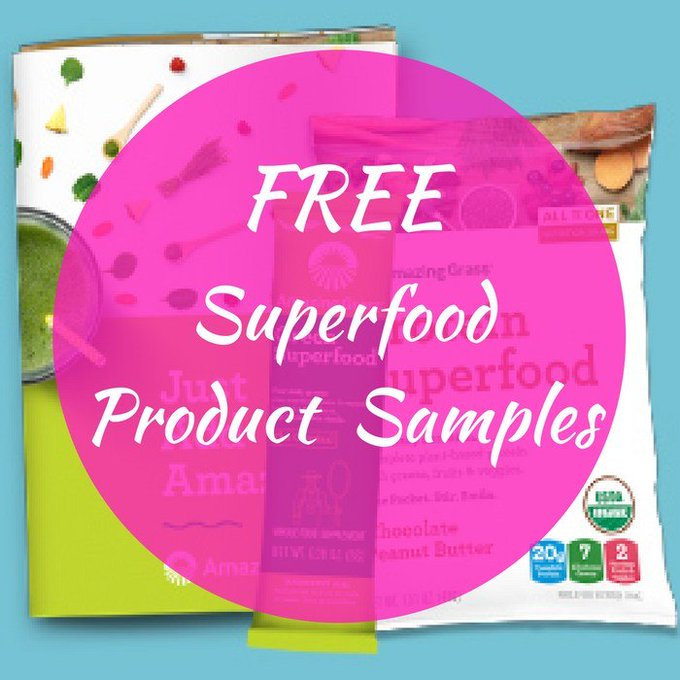 FREE 2 Superfood Product Samples! FREEbies Instagram free