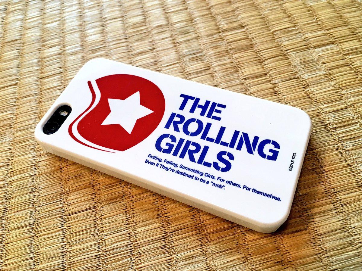これは!?ローリングガールズのiPhoneカバーを頂いた!ありがとうございます!!落としても転がり続ければいつかは見つか