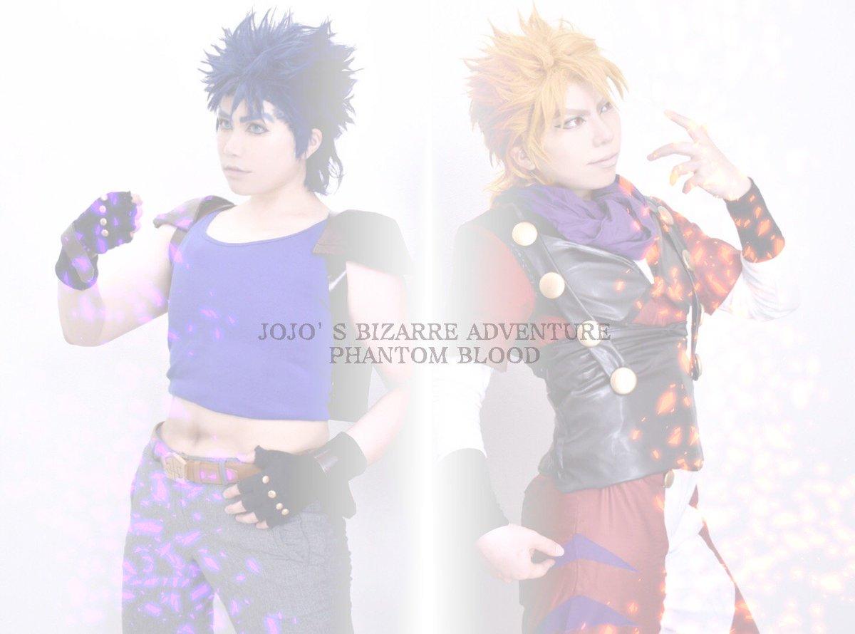 ⚠コスプレ注意⚠ジョジョの奇妙な冒険JOJO'S BIZARRE ADVENTURE Part1 Phantom Bl