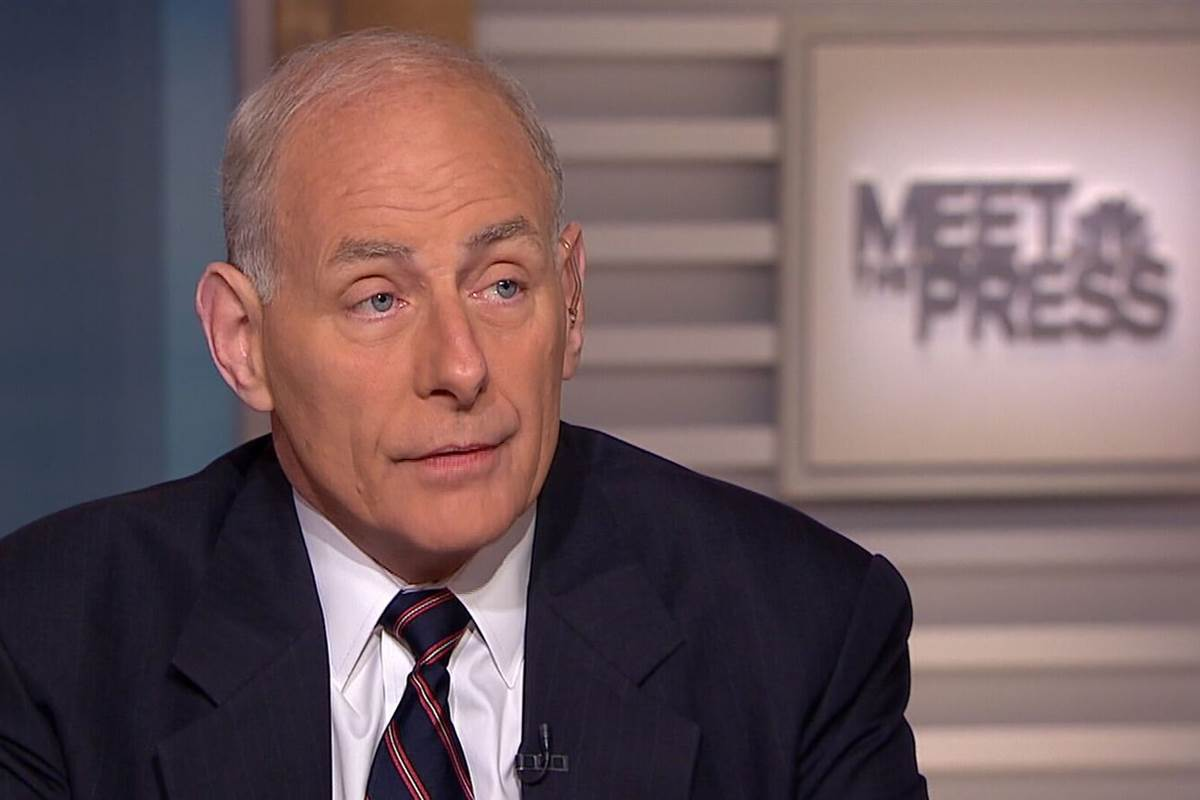 "Homeland Security Secretary John Kelly Intelligence leaks are ""darn close to treason"""