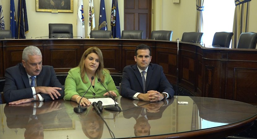 Puerto Rico Governor comes to Capitol Hill pushing for statehood and budget inclusion