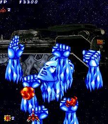 #好きなシューティングゲームのボム爆烈ブレイカーのオラオララッシュボム製作スタッフにジョジョ好きがいたのかw