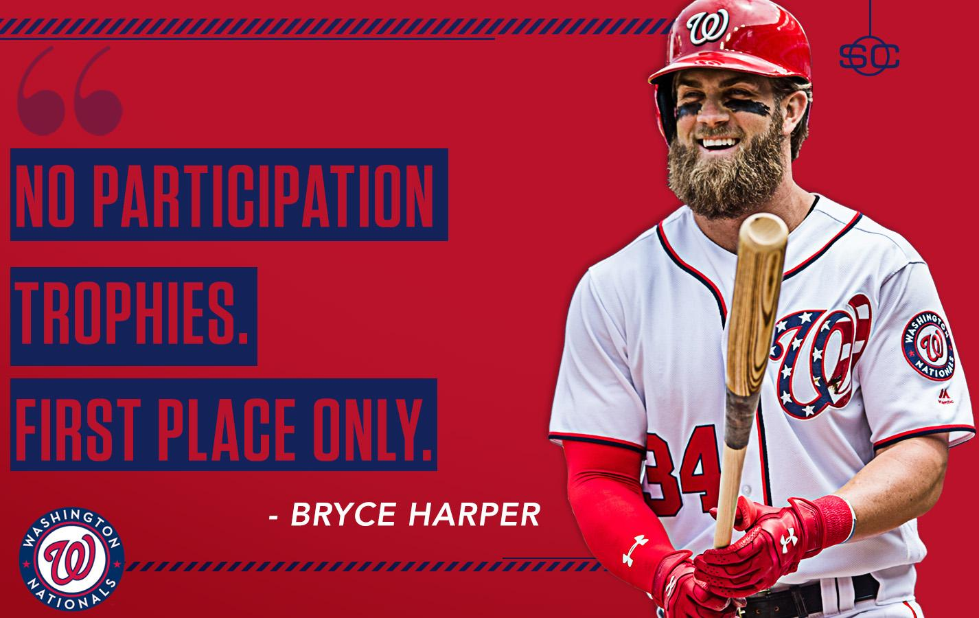 Bryce Harper offered his short-and-sweet recipe for how to be a winner to little leaguers. https://t.co/d1LPyC65yI https://t.co/ctD8ufySUN