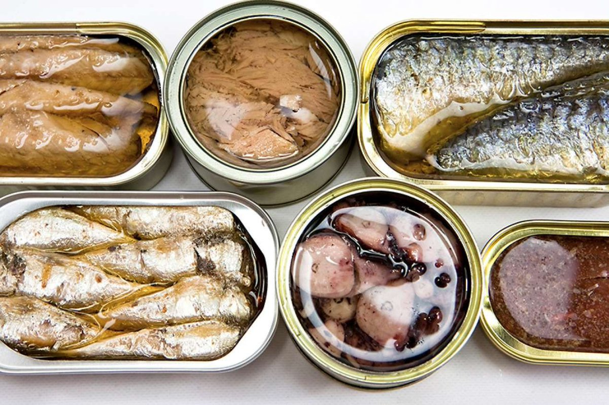 Как сделать рыбные консервы в масле из  814