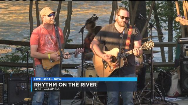 Hundreds attend annual Rhythm on the River concert