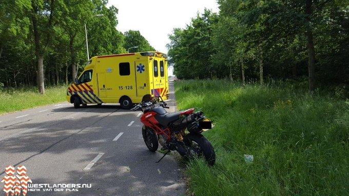 Motorrijder gewond na ongeluk Madesteinweg https://t.co/HC25JVpy9Z https://t.co/fNx7W9Alz4