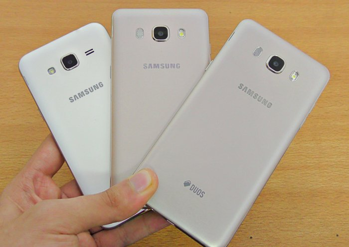 Diferencias entre el Samsung Galaxy J3, J5 y J7 - ...