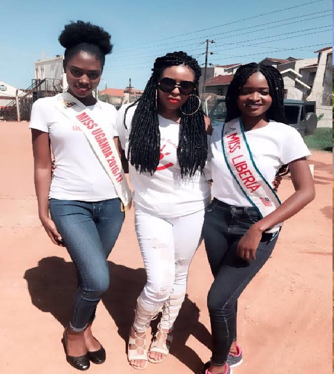 Miss Liberia Concludes Uganda Charitable Tour, Arrives In Ghana This Week