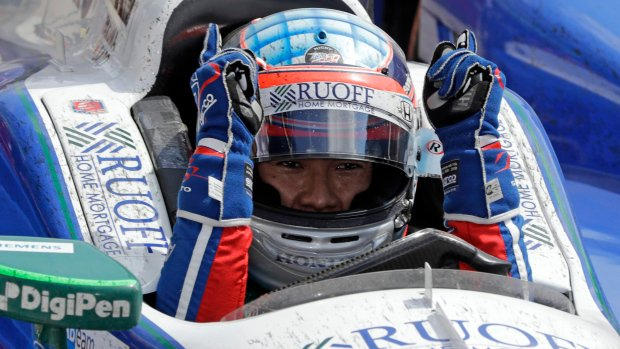 Takuma Sato became the first Japanese winner of the Indianapolis 500 Sunday