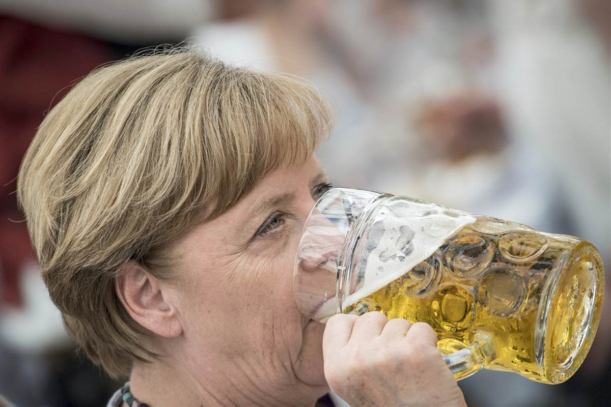 Europe can no longer completely rely on its allies, German Chancellor Angela Merkel said