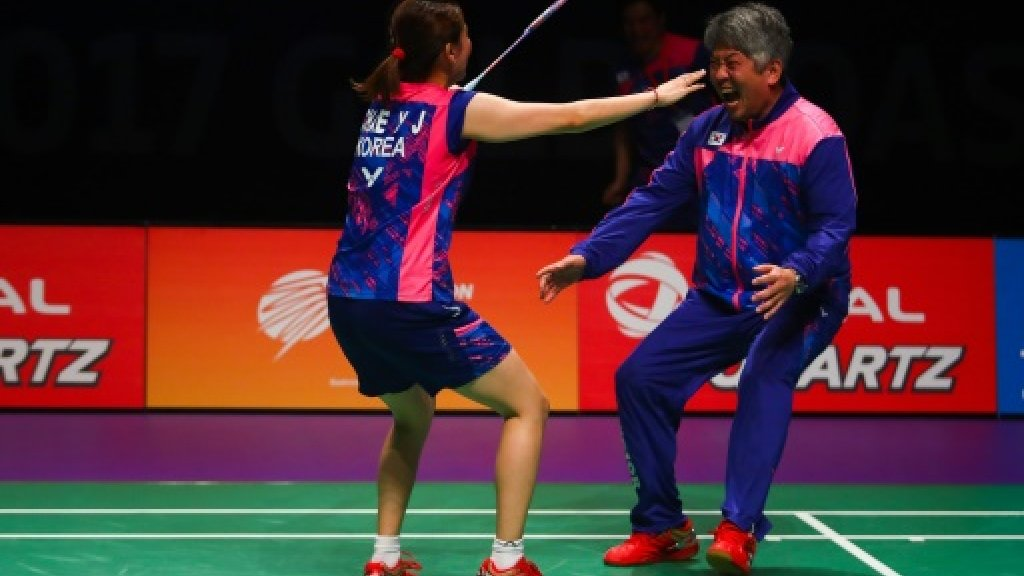 South Korea shuttlers upset China to win Sudirman Cup