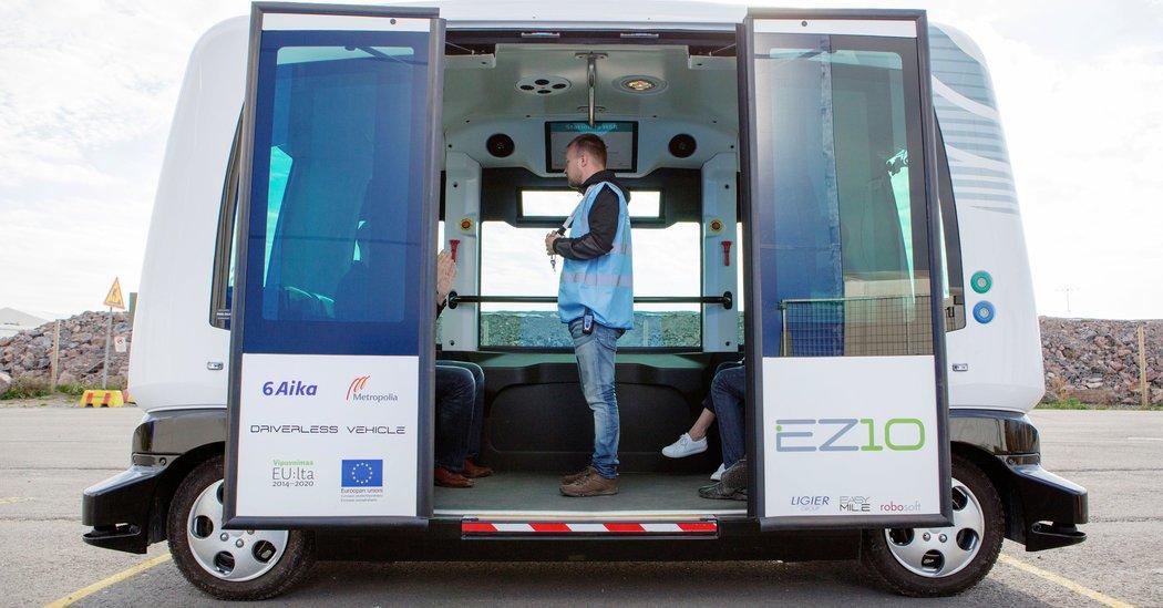 The Future of European Transit: Driverless and Utilitarian