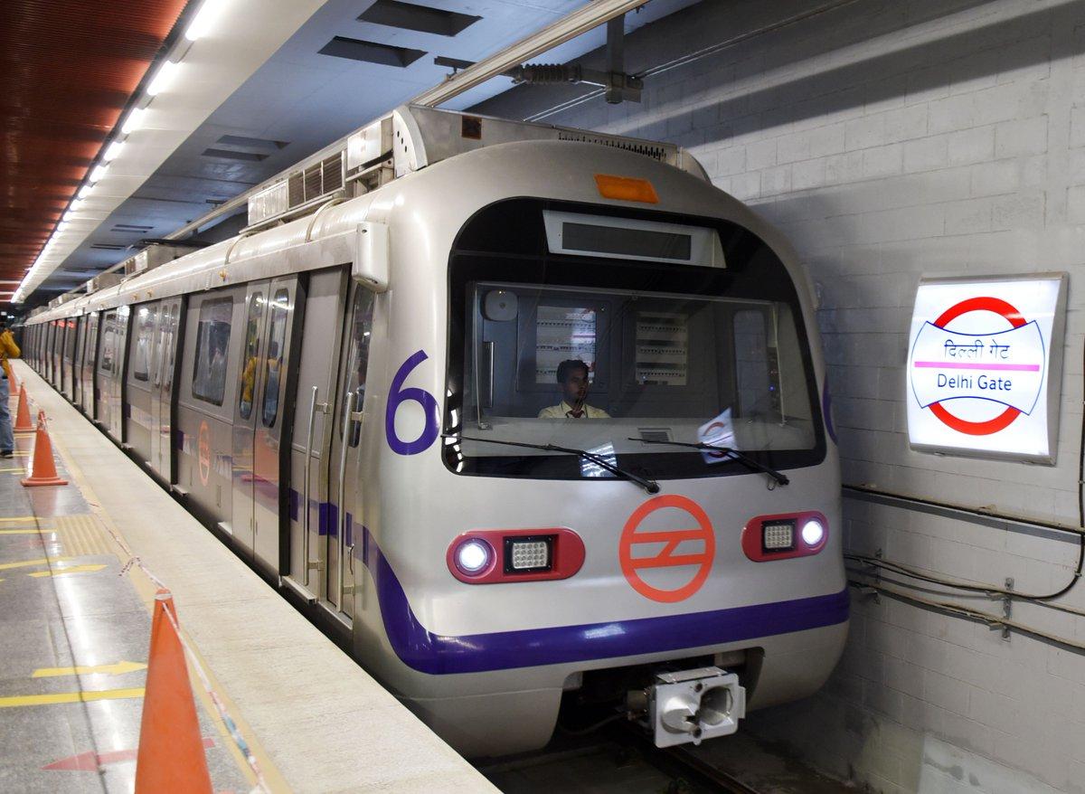 Delhi Metro finally chugs into heart of Walled City via @TOIDelhi