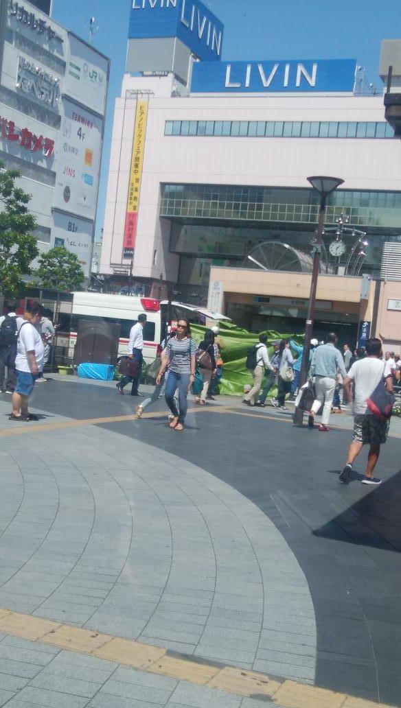 test ツイッターメディア - 錦糸町降りたら人身事故。怖いな。 https://t.co/ZCf7EbfRC7