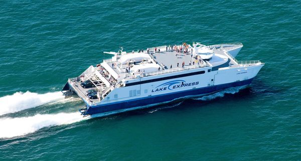 Lake Michigan ferry turns trip into unforgettable time