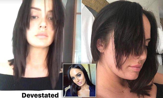 Youtube Star Chloe Morello Devastated After Haircut At London