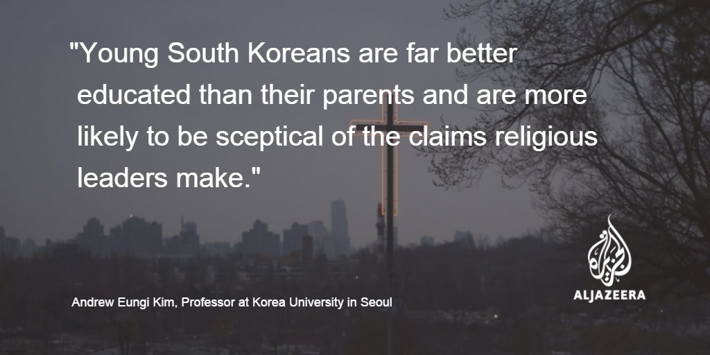 Why young South Koreans are turning away from religion