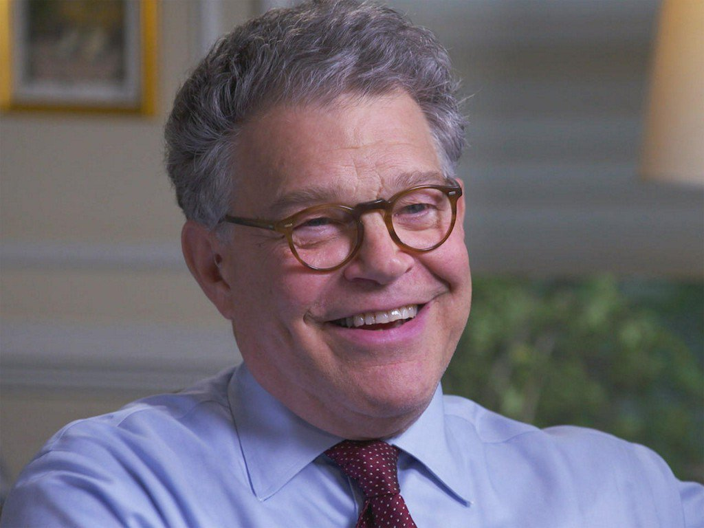 "Al Franken on humor in a politically ""grim"" time"
