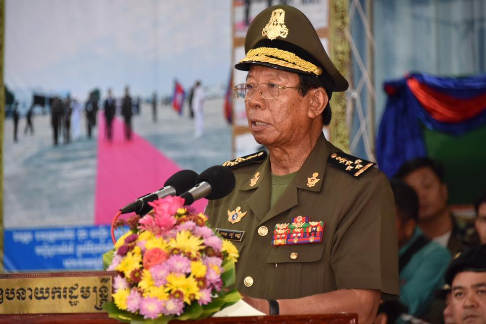 Cambodian deputy PM threatens to 'smash the teeth' of opposition