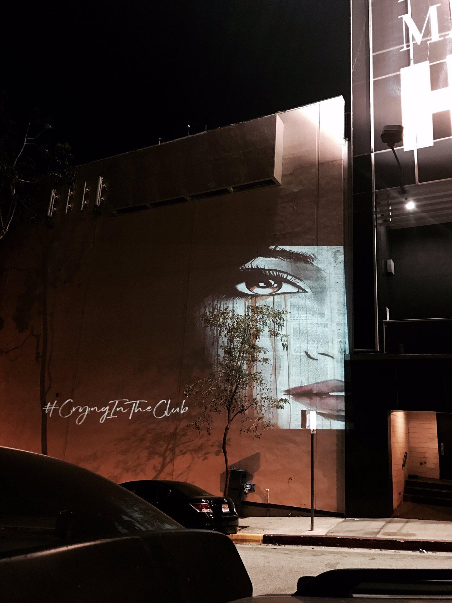 Los Angeles, we're here! #CryingInTheClubFriday �� https://t.co/i0ndUT6i3X