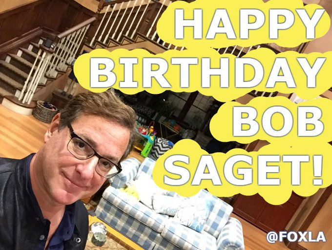 """Happy birthday, Bob Saget ! The stand-up comedian and \""""Full House\"""" actor turns 61 today"""