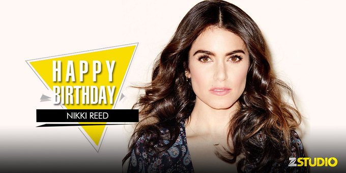 Happy birthday to Nikki Reed who played the beautiful vampire, Rosalie! Send in your wishes!