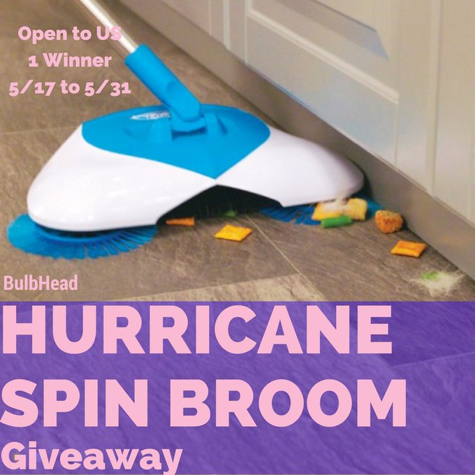 Hurricane Spin Broom Giveaway