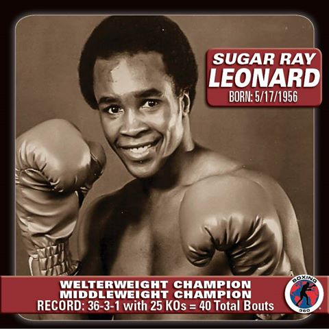 Happy Birthday to Sugar Ray Leonard who turns 61 today!